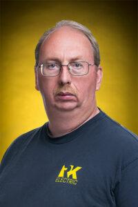 Headshot of Michael W. - logistics at RK Electric