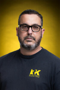 Headshot of Chris C. - logistics at RK Electric